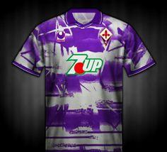 Fiorentina away shirt for 1993-94.