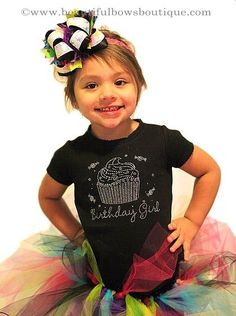 """This listing is for the pictured in your choice of color and size with the rhinestone saying """"Birthday Girl"""". How perfect for a party! The wo. Tutu, Rhinestone Shirts, Cute Jeans, 8th Birthday, Girl Model, Birthday Shirts, Trending Outfits, Custom Shirts, Phoenix"""