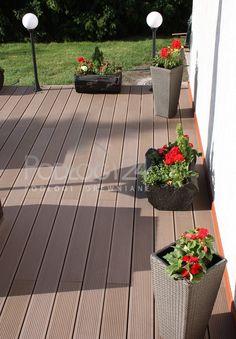 Taras kompozyt Deck, Patio, Outdoor Decor, Home Decor, Yard, Porch, Decks, Terrace, Home Interior Design