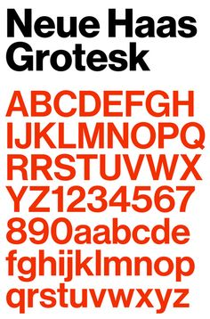 Font Bureau has created this wonderful mini-site all about the excellent typeface Neue Haas Grotesk. It explains the history of the face, along with a nice section on its features and what makes it different from Helvetica. An instant valuable resource.