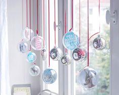 Weihnachtskugeln als Fensterdeko - Bild 7 - [LIVING AT HOME]