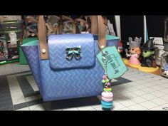 Project Share: Paper Purses Using 1 Sheet of 12 x 12 Cardstock - YouTube