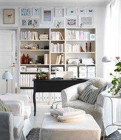I Def Want Big And Small Bookcases In The Living Room Probably Against Wall Between Our Rooms Or Nook Space