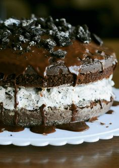 Chocolate Covered Oreo Cookie Cake