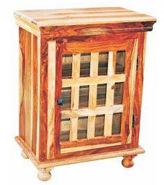 Shesham bedside | Majestic Home Furniture