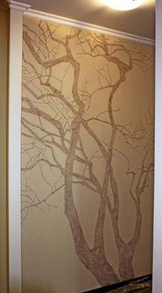 Картинки по запросу роспись стен узоры дерево