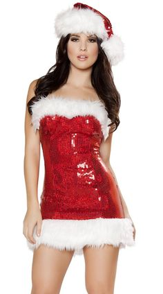 Go glam with a sequin minidress ($79) that can go from the club to the bedroom.
