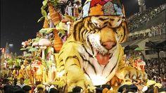 Float from the Samba Parade in Sambadome, Rio de Janeiro, Brasil Brazil Carnival, Samba, South America, Backpacking, Travel Inspiration, Princess Zelda, Explore, Pictures, Fictional Characters