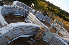 Como construir en Superadobe paso a paso | La Bioguía