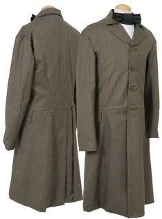 mens over coats 19th century | 19th Century Tailoring Trail Wear, Riding, britches, duster, coat ...