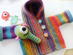 "The perfect happy baby sweater. ""Snug"" by Hinke"