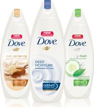 Dove® Soaps are simply the best. I've recommended them for years!