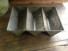 Vintage metal mold