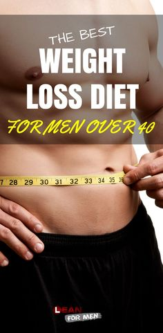 Lose weight over 40 diet for men