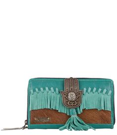 Big Wallet Suede Fringes Portemonnees Pretty Hot And Tempting (€79,95)