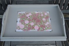 Shabby Chic French Provincial Style Serving Tray | eBay