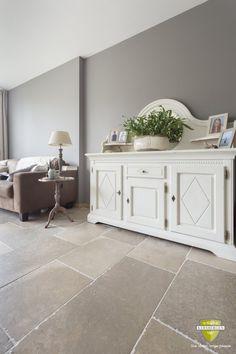 Bourgondische dallen Gris Fonce | French limestone flooring | Kersbergen.nl