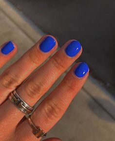 Stylish Nails, Trendy Nails, Hair And Nails, My Nails, Finger, Nagellack Design, Funky Nails, Colorful Nails, Nail Ring