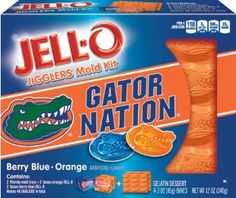 JELL-O University of Florida Mold Kit, 12 Ounce