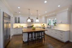 Majestic Kitchens Bath Designer Roberto Leira Island Cabinetry Cabico Beaded Inset