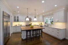 Majestic Kitchens Bath Designer Roberto Leira Island Cabinetry Cabico Beaded Inset