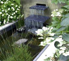 10 Idees De Bassins D Eau Cascade De Jardin Fontaine De Jardin Jardin D Eau