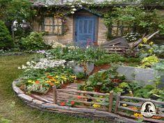 Como fazer um jardim comestível
