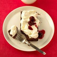 Schwarzwaldský koláč s višněmi