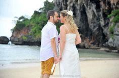 Railay Beach Wedding Railay Beach, Thailand Wedding, Event Organiser, Wedding Ceremony, Destination Wedding, Marriage, White Dress, Dresses, Style