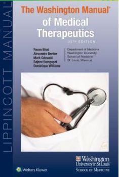 Washington Manual of Medical Therapeutics, 35E (2016) [PDF] | Free Medical Books