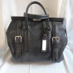 Vintage Alte Leder Tasche - Sommer Sale für 149,00 €