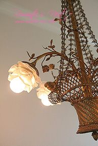 Antique French chandelier.