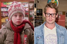 This post is so full of people it makes me sick! Macaulay Culkin, Home Alone, Knitting Accessories, Then And Now, Plastic Surgery, Scarfs, Movies And Tv Shows, Sick, Random Stuff