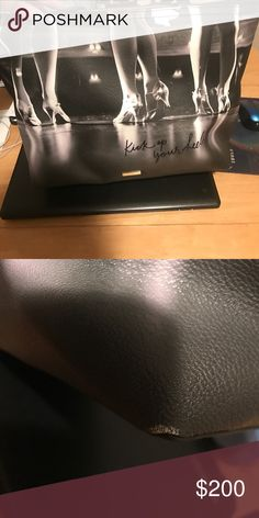 Kate spade kick up your heels Really having a hard time selling this but my dog needs surgery so I'm a bit desperate :( there is one flaw on the edge but it's not very noticeable kate spade Bags Totes