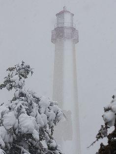 Blizzard at Cape May, NJ