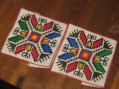 biscornu - bulgarian folk motif, #Bulgaria #places #travels