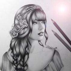 Taylor swift drawing by kristina webb kristina webb ❤ идеи д Pencil Drawings Of Girls, Love Drawings, Beautiful Drawings, Disney Drawings, People Drawings, Awesome Drawings, Girl Drawings, Sketchbook Drawings, Drawing People