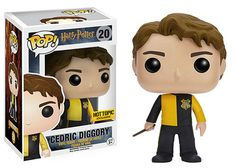 Your favorite characters from Harry Potter are adorable Pop! This Harry Potter Cedric Diggory Pop! Vinyl Figure features the former Triwizard Champion, holding his wand at the ready. Figurine Pop Harry Potter, Harry Potter Pop Figures, Harry Potter Pop Vinyl, Objet Harry Potter, Funko Harry Potter, Hot Topic Harry Potter, Hogwarts, Pop Vinyl Figures, Lord Voldemort