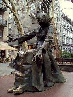 Ferenc Liszt statue, Budapest - Hungary