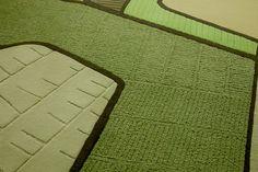 Designed by Helen Kontouris. Organic Form, Hand Tufted Rugs, Terraces, Detail, Design, Decks, Terrace