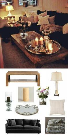 cozy + glam #livingroom. #adoredecor