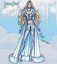 #Marvel Divas by Hayden Williams : Emma Frost