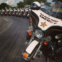 ◆Palm Beach County, FL Sheriff's Office Motorcycles◆
