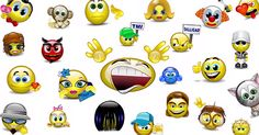 Use these animated smileys when you want to ramp up your FB status updates, chat messages, or comments with something unexpected.