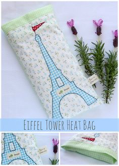 Eiffel Tower Heat Bag Main Sew an Eiffel Tower Heat Bag from A Spoonful of Sugar: National Sewing Month 2013