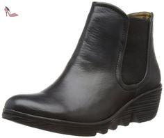 Fly London  Phil, bottes chelsea femme - Noir - noir, 41.5 (8 UK) - Chaussures fly london (*Partner-Link)