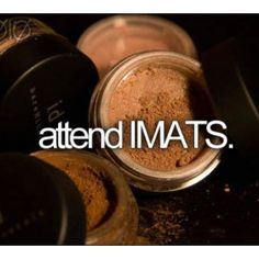 Attend IMATS... YES! We love this!  www.imats.net
