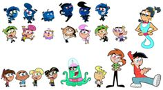 Fairly OddParents Characters by ~FairlyOddFan on deviantART