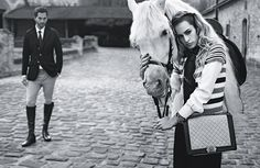 Come on Chanel! That bag is so 80s! The guy is timeless tho...