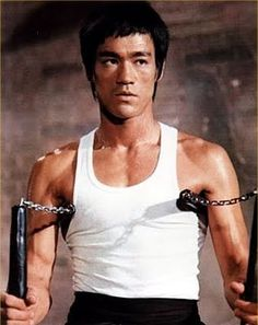 Named by Time Magazine as one of the 100 most influential people of the 20th century, martial arts icon Bruce Lee.